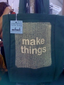 Make Things tote by Michelle Brusegaard